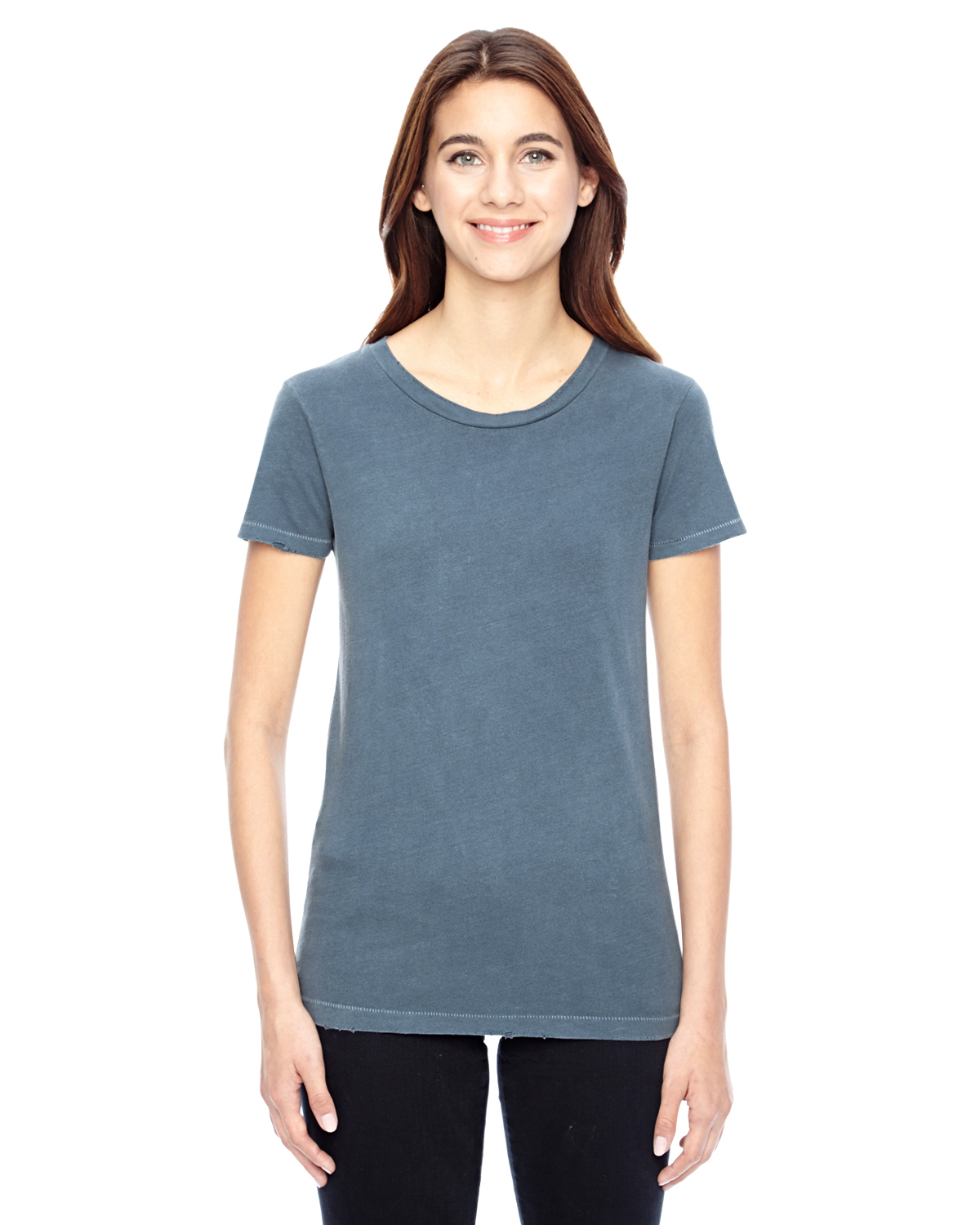 Alternative 04860C1 - Ladies' Distressed Vintage T-Shirt