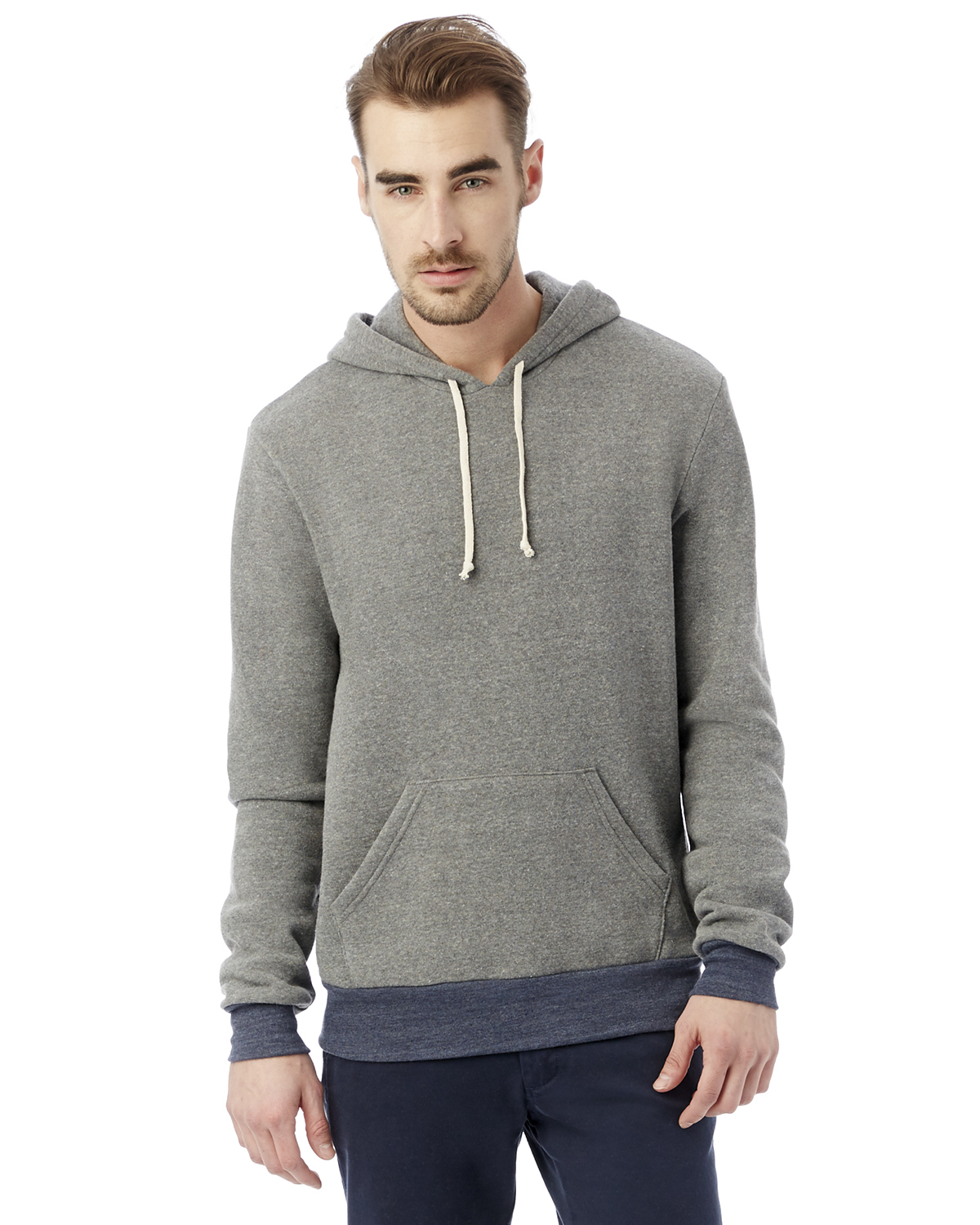 Alternative - 09595F2 Men's Hoodlum Eco-Fleece Pullover ...