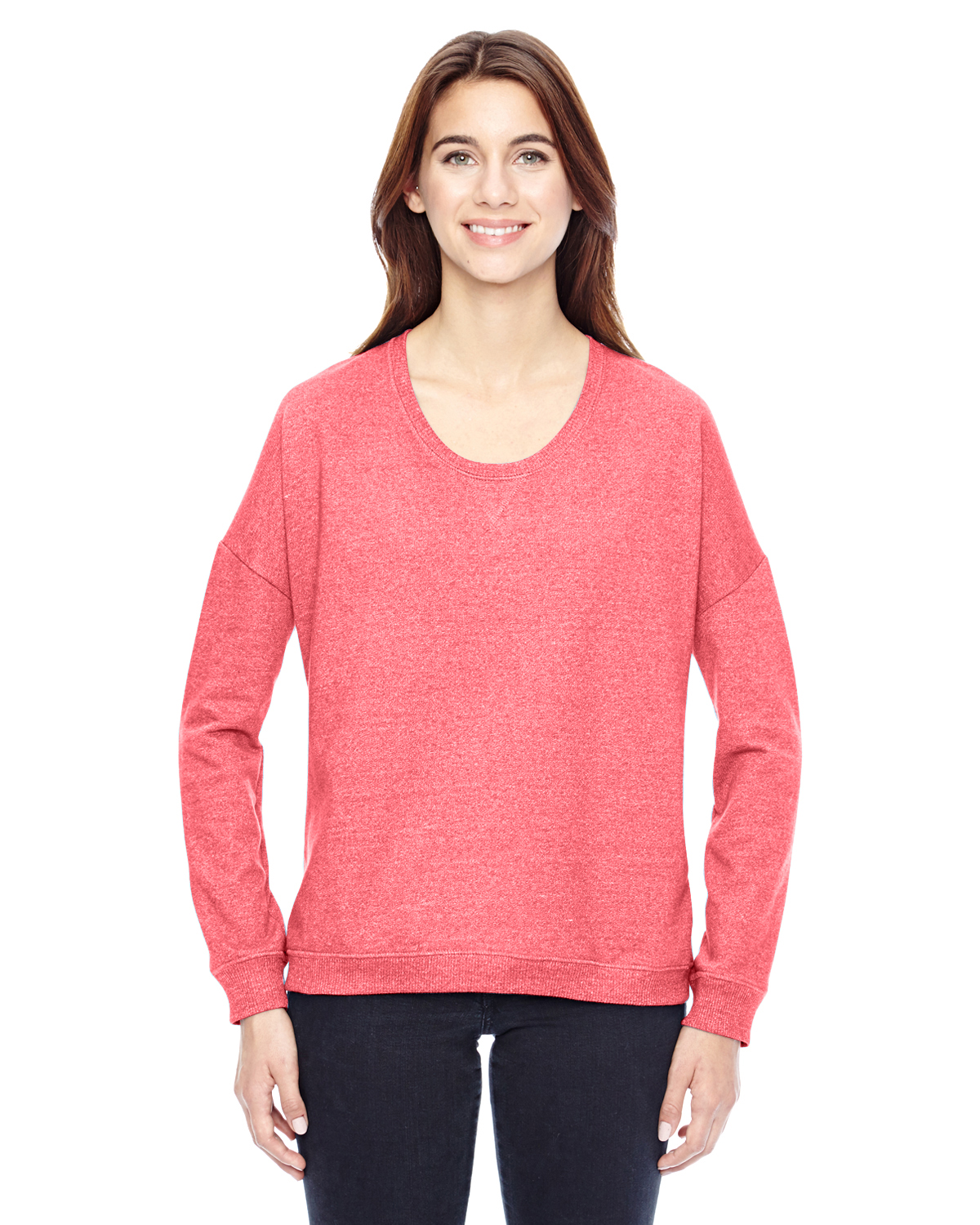 Alternative 09833E - Ladies' Eco-Mock Twist Sunset Crewneck