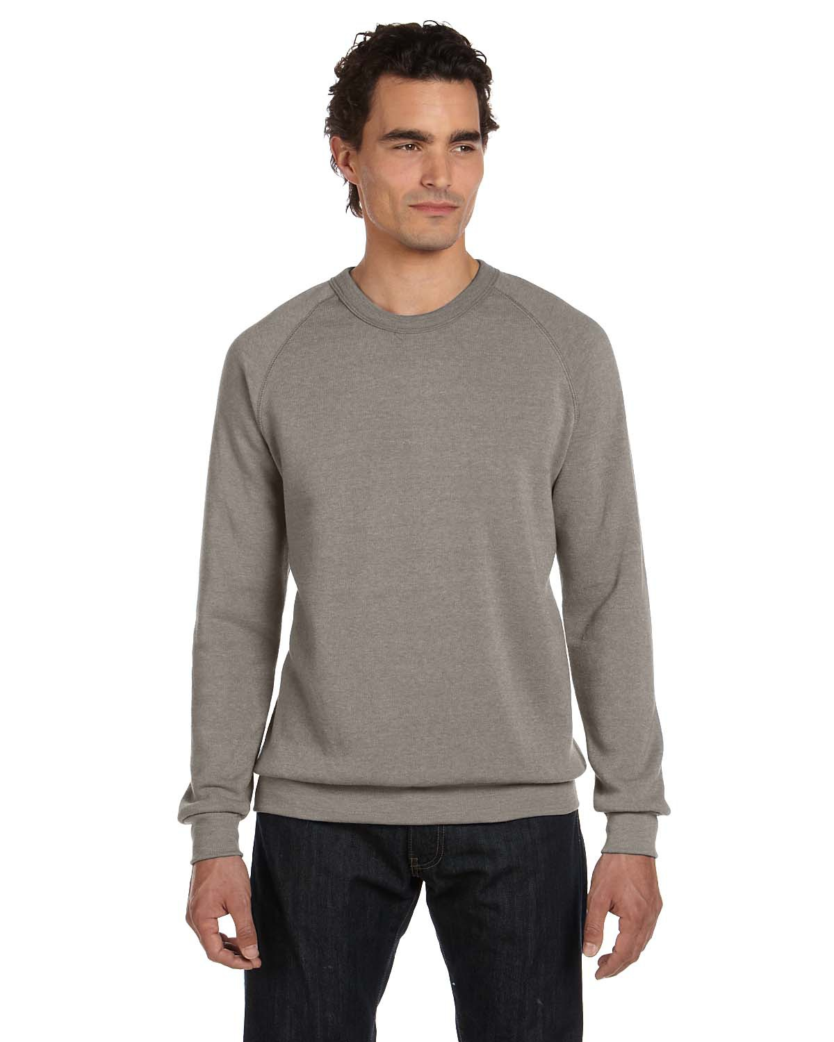 Alternative AA9575  Long-Sleeve Basic Fleece Crew