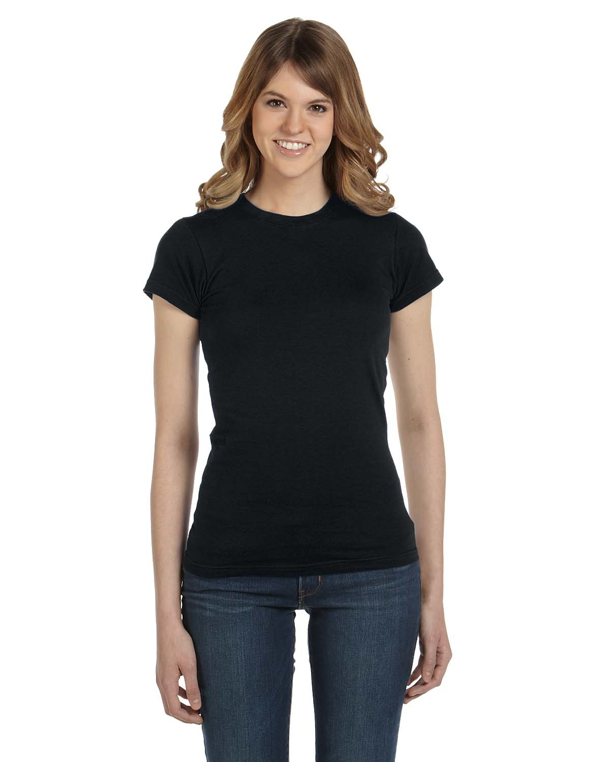 Anvil 379  Women's Ringspun Semi-Sheer T-Shirt