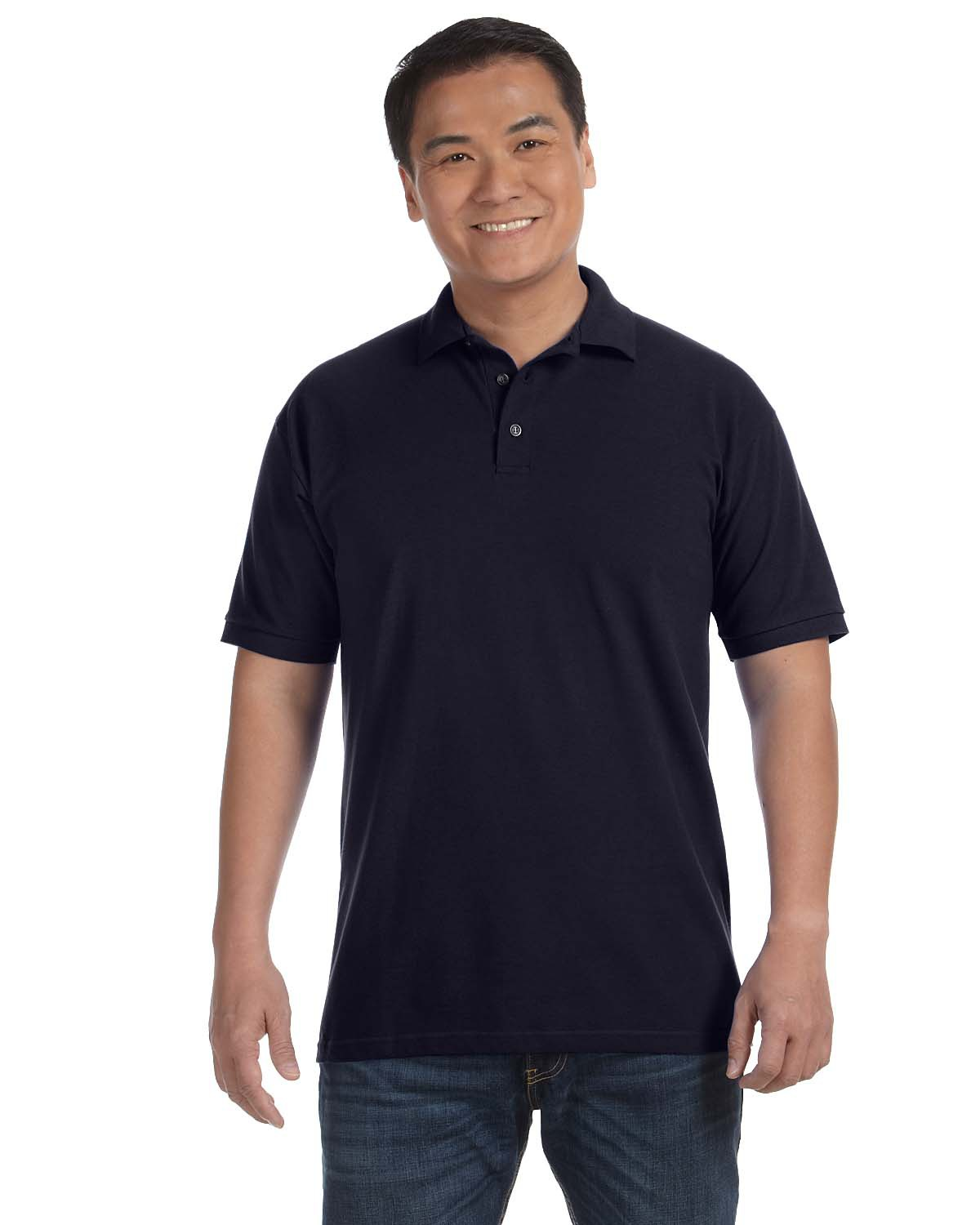 Anvil 6020 Ringspun Cotton Pique Polo