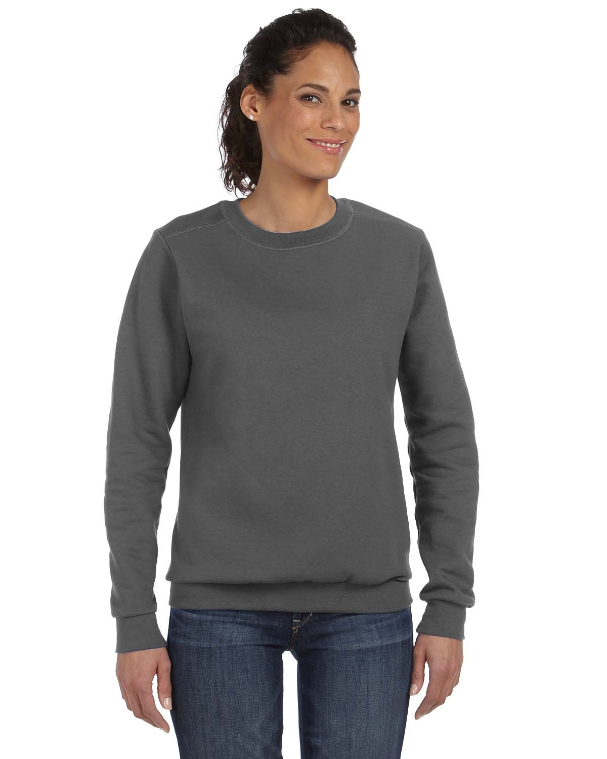 Anvil 71000L - Ladies' Crewneck Fleece
