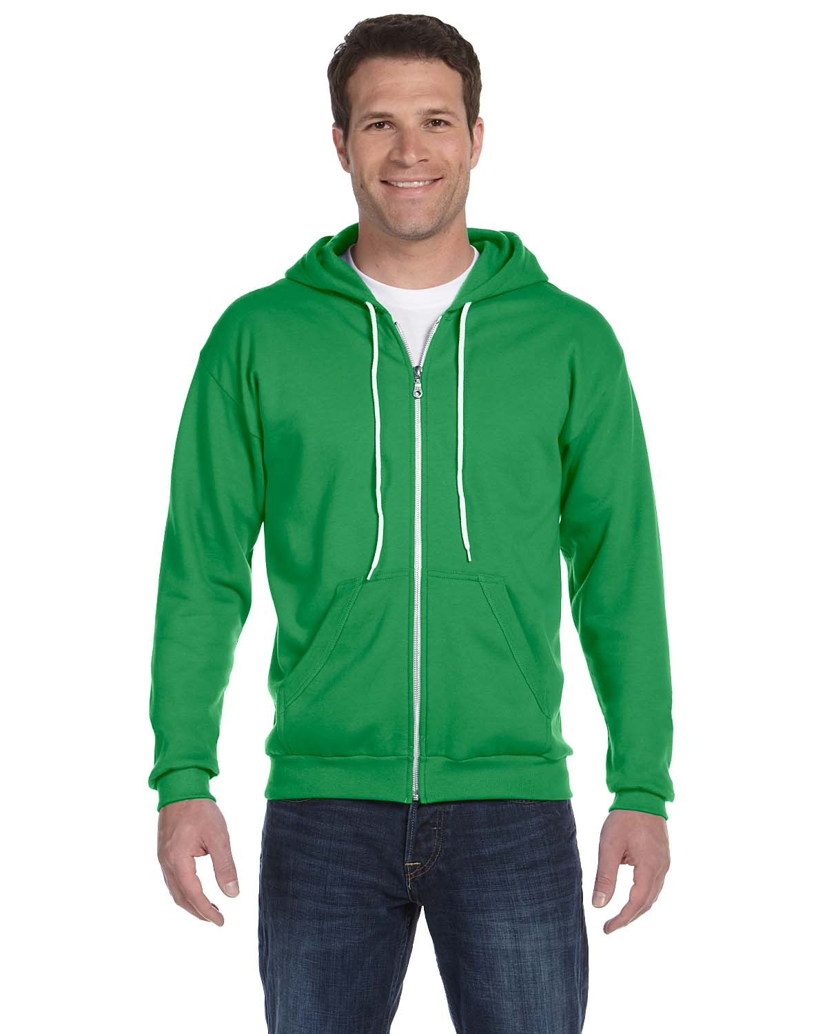 Anvil 71600 - Men's Fashion Full-Zip Hooded Sweatshirt