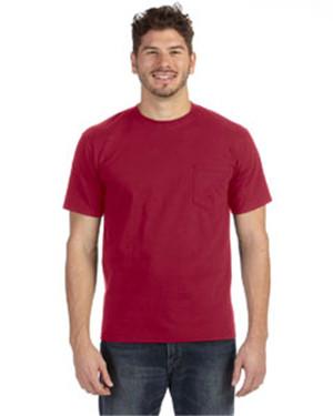 Anvil 783AN - Heavyweight Ringspun Pocket T-Shirt
