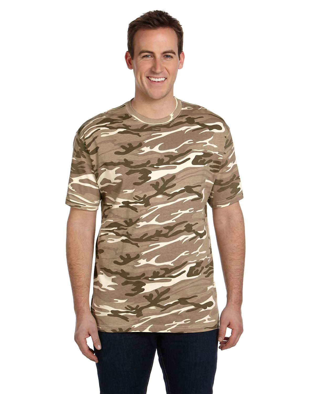 Anvil 939 - Adult Midweight Camouflage T-Shirt