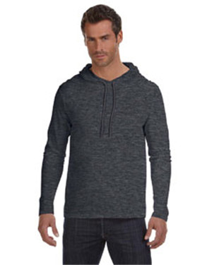 Anvil 987AN - Lightweight Hooded Long Sleeve T-Shirt