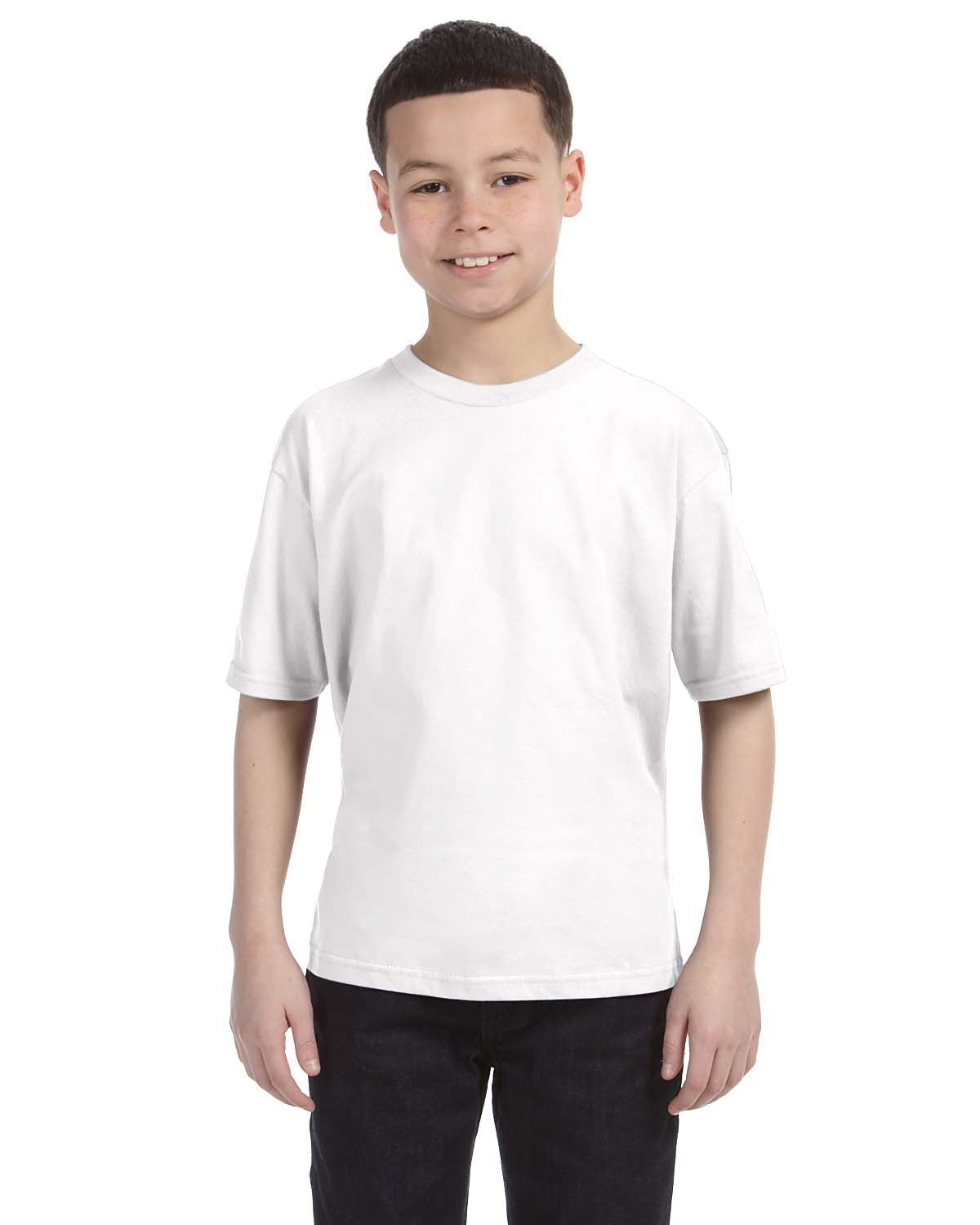Anvil 990B Youth Ringspun Fashion Fit T-Shirt