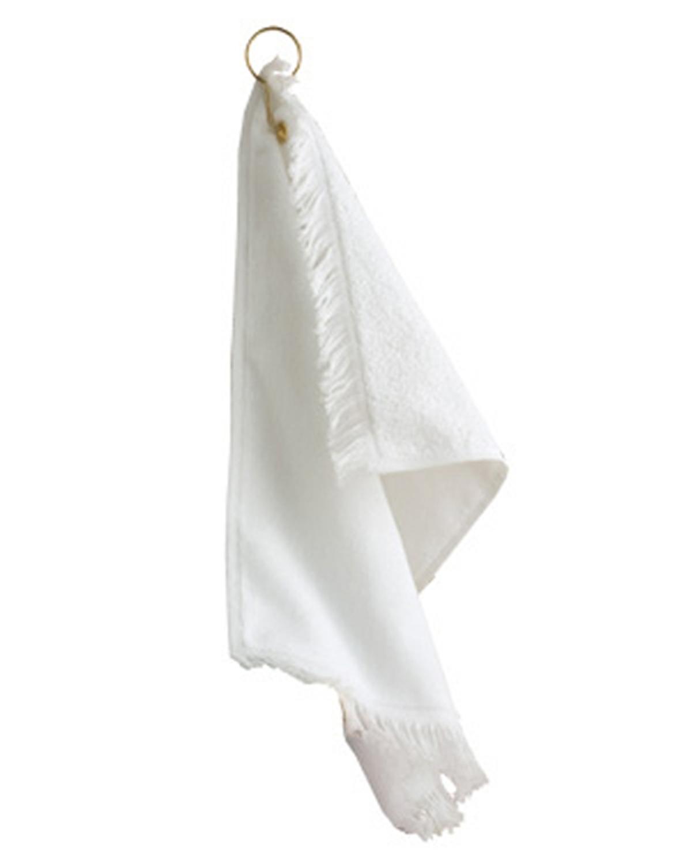 Anvil T60GH Fringed Fingertip Towel with Grommet