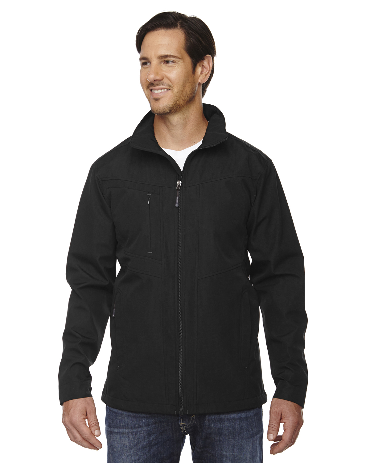 Ash City - North End 88212 - Men's Forecast Three-Layer Light Bonded Travel Soft Shell Jacket