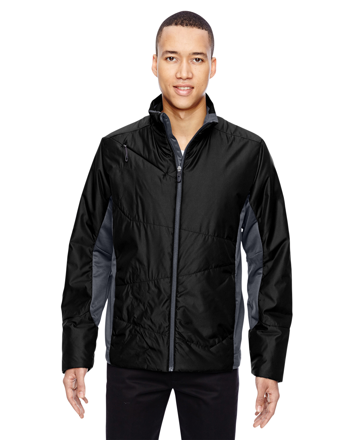 Ash City - North End Sport Red 88696 - Men's Immerge Insulated Hybrid Jacket with Heat Reflect Technology