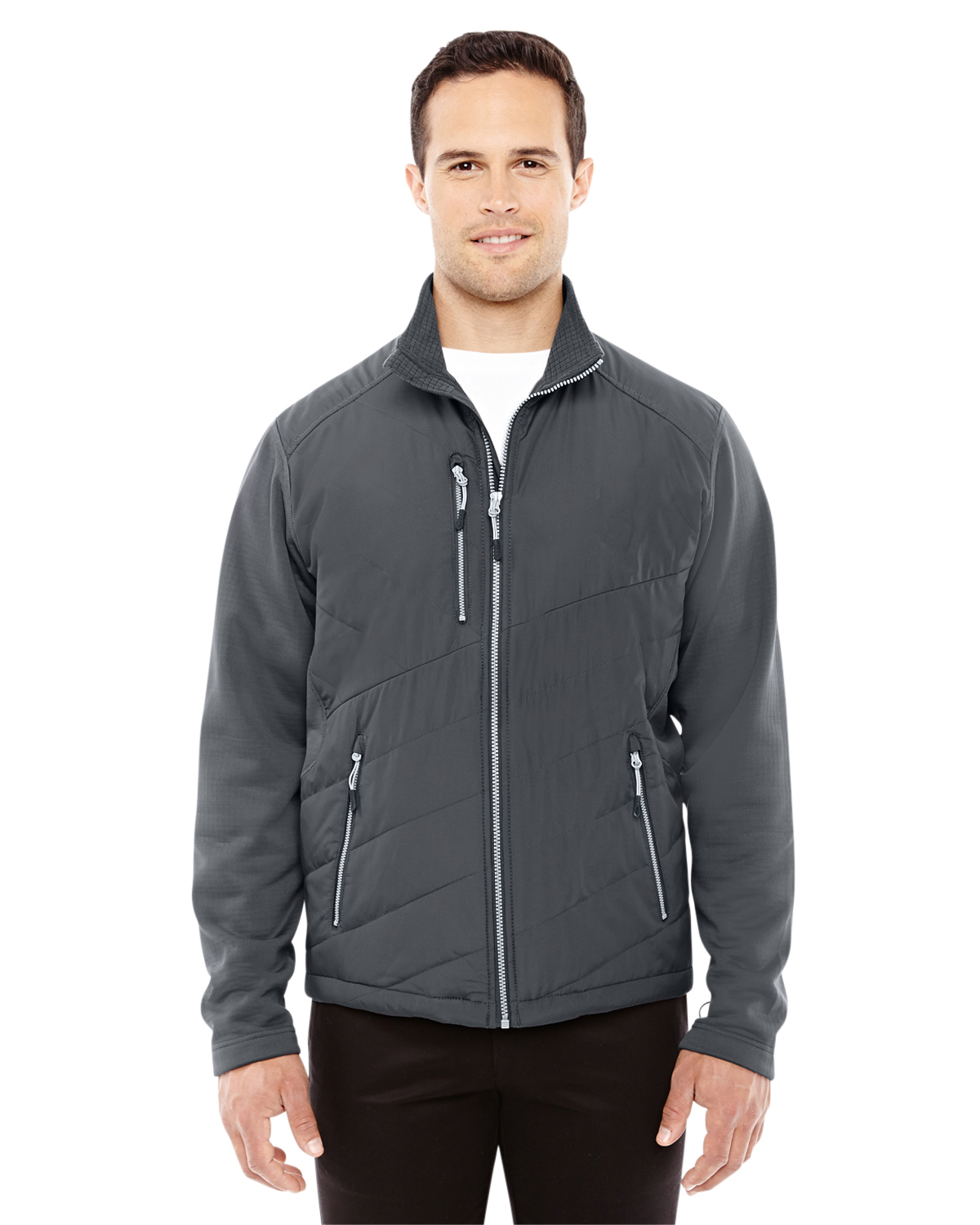Ash City - North End Sport Red 88809 - Men's Quantum Interactive Hybrid Insulated Jacket