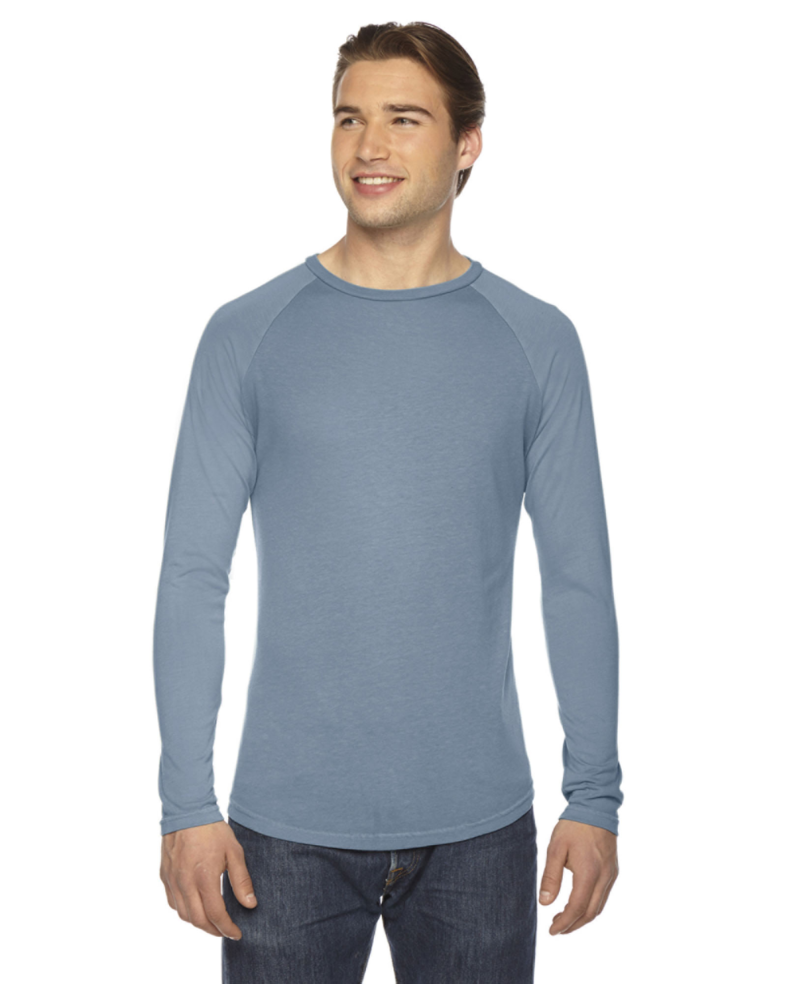 Authentic Pigment AP203 - Men's True Spirit Raglan T-Shirt