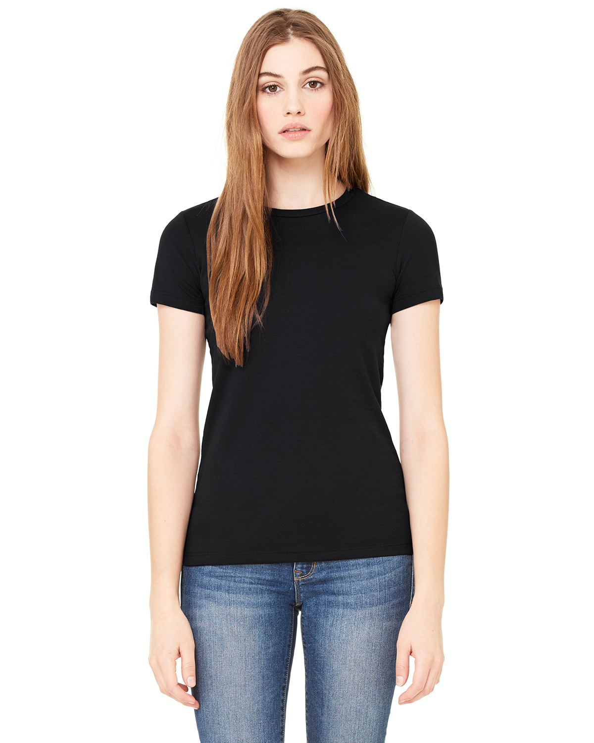 Bella 6650 Ladies 3.6 oz. Poly-Cotton Short-Sleeve T-Shirt