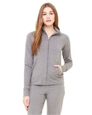 Bella 807  Women's Cotton/Spandex Cadet Jacket