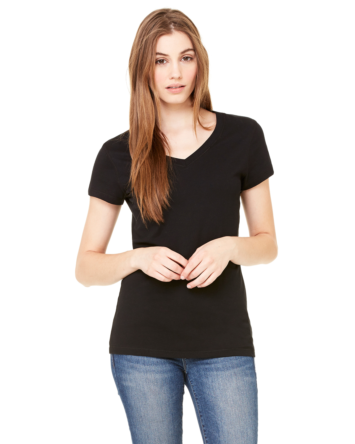 Bella B6005  Women's V-neck T-Shirt