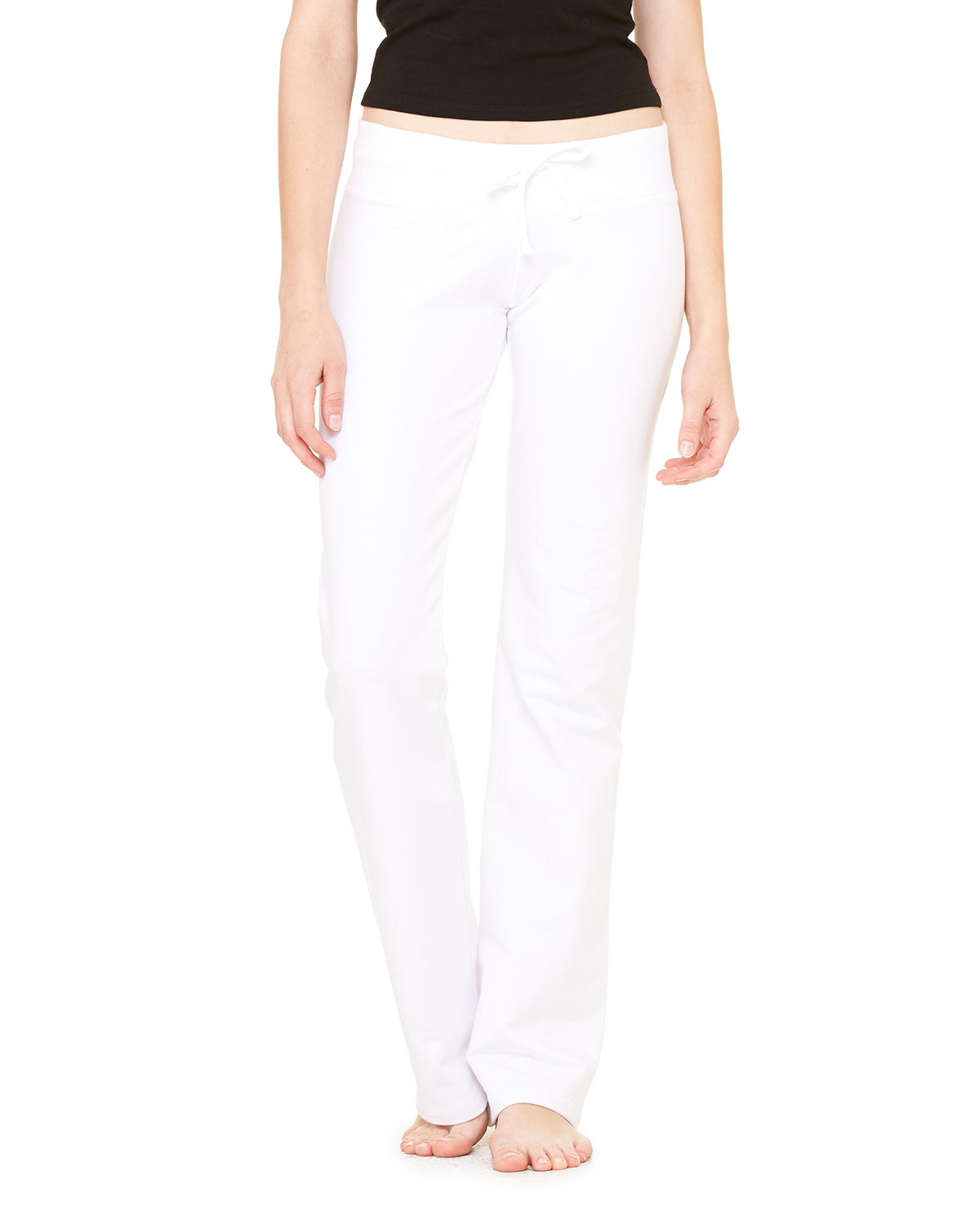 Bella B7217  Women's Stretch French Terry Lounge Pants