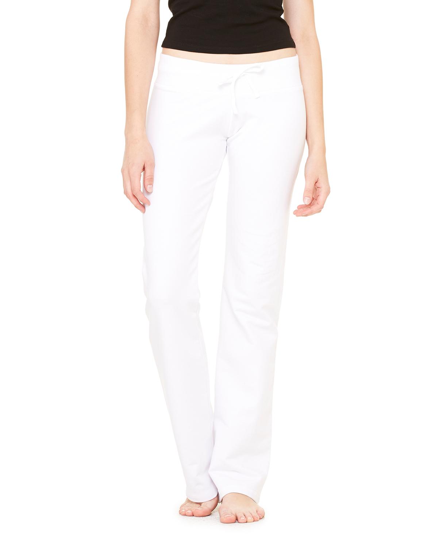Bella B7217  Women's Stretch French Terry Lounge Pants