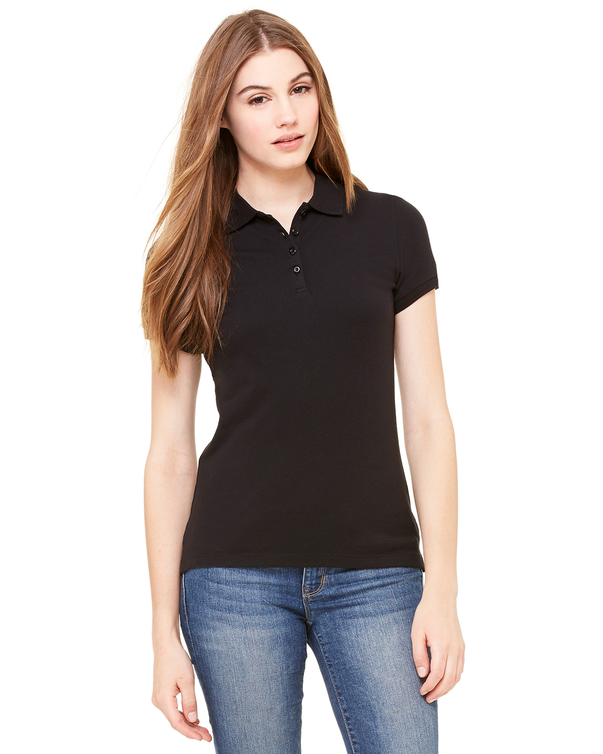 Bella B750  Women's Mini Pique Polo