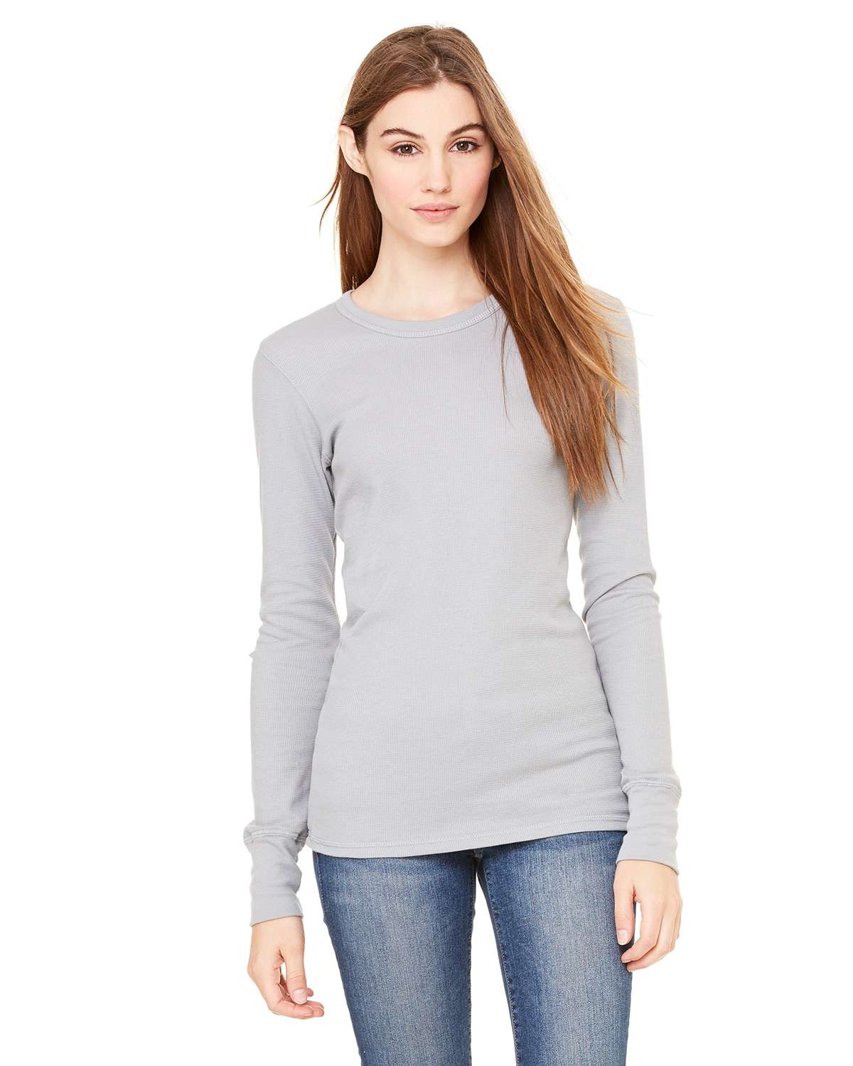 Bella B8500 Ladies' Thermal Long Sleeve Tee