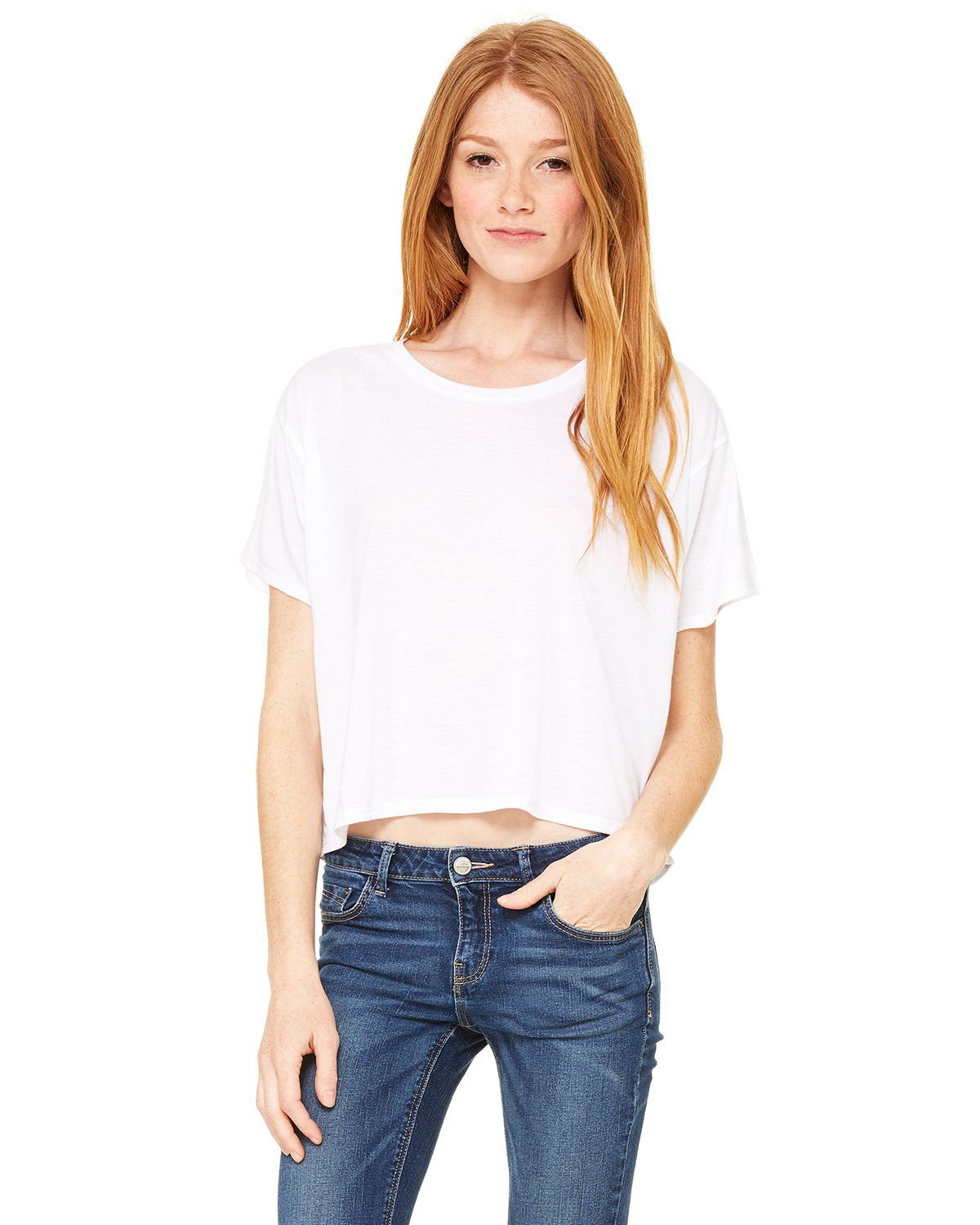 Bella B8881 Ladies 3.7 oz. Boxy T