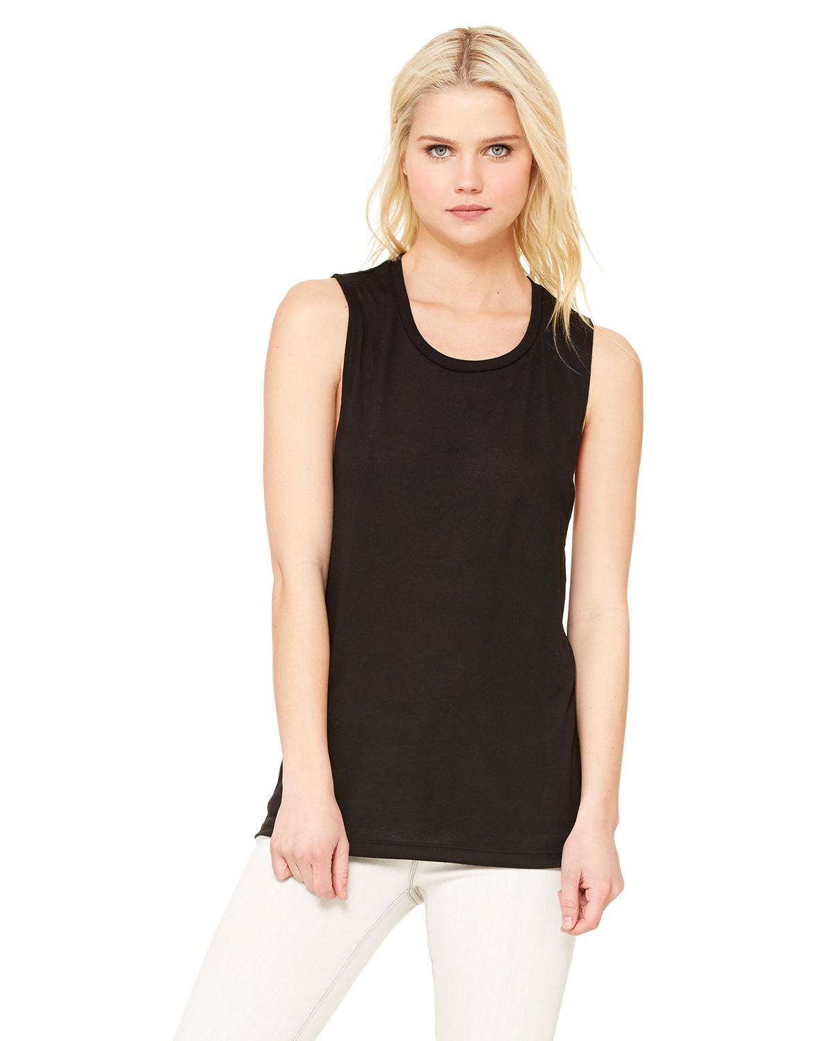 Bella + Canvas B8803 - Ladies' Flowy Scoop Muscle Tank
