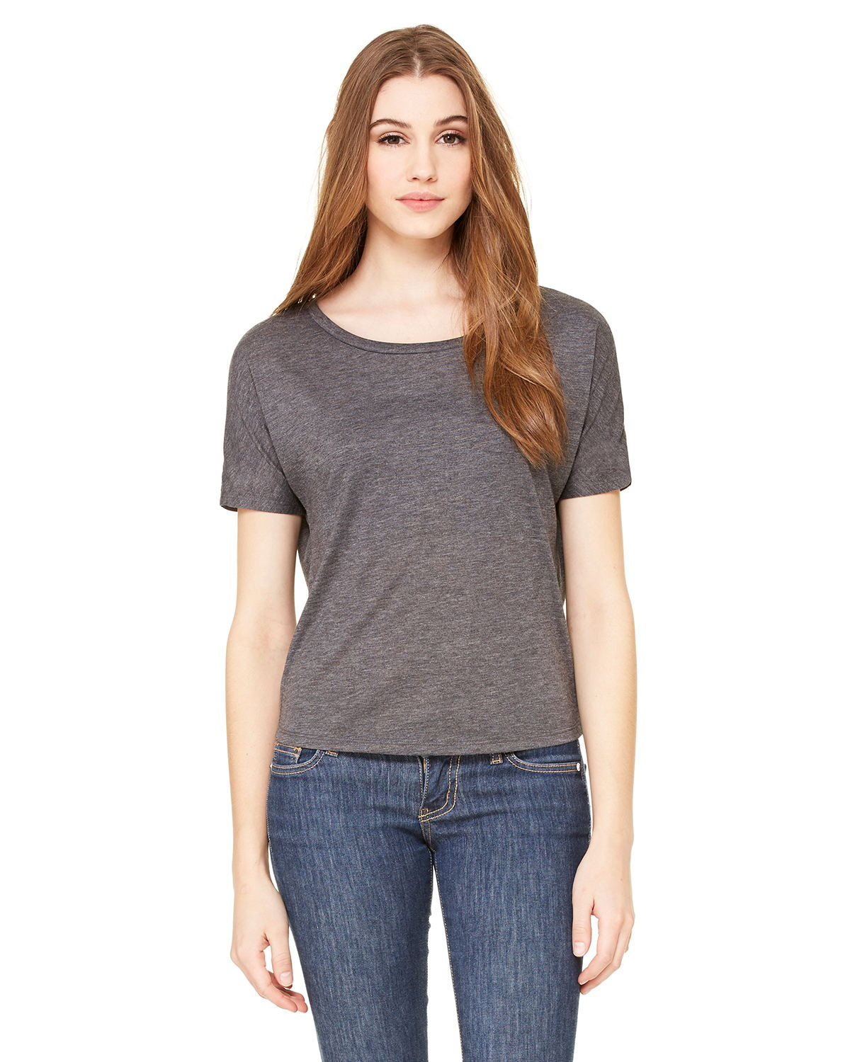 Bella + Canvas B8871 - Ladies' Flowy Open Back T-Shirt