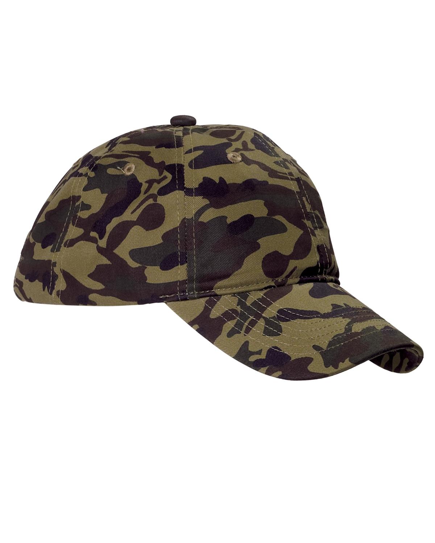 Big Accessories BX018 Unstructured Camo Hat