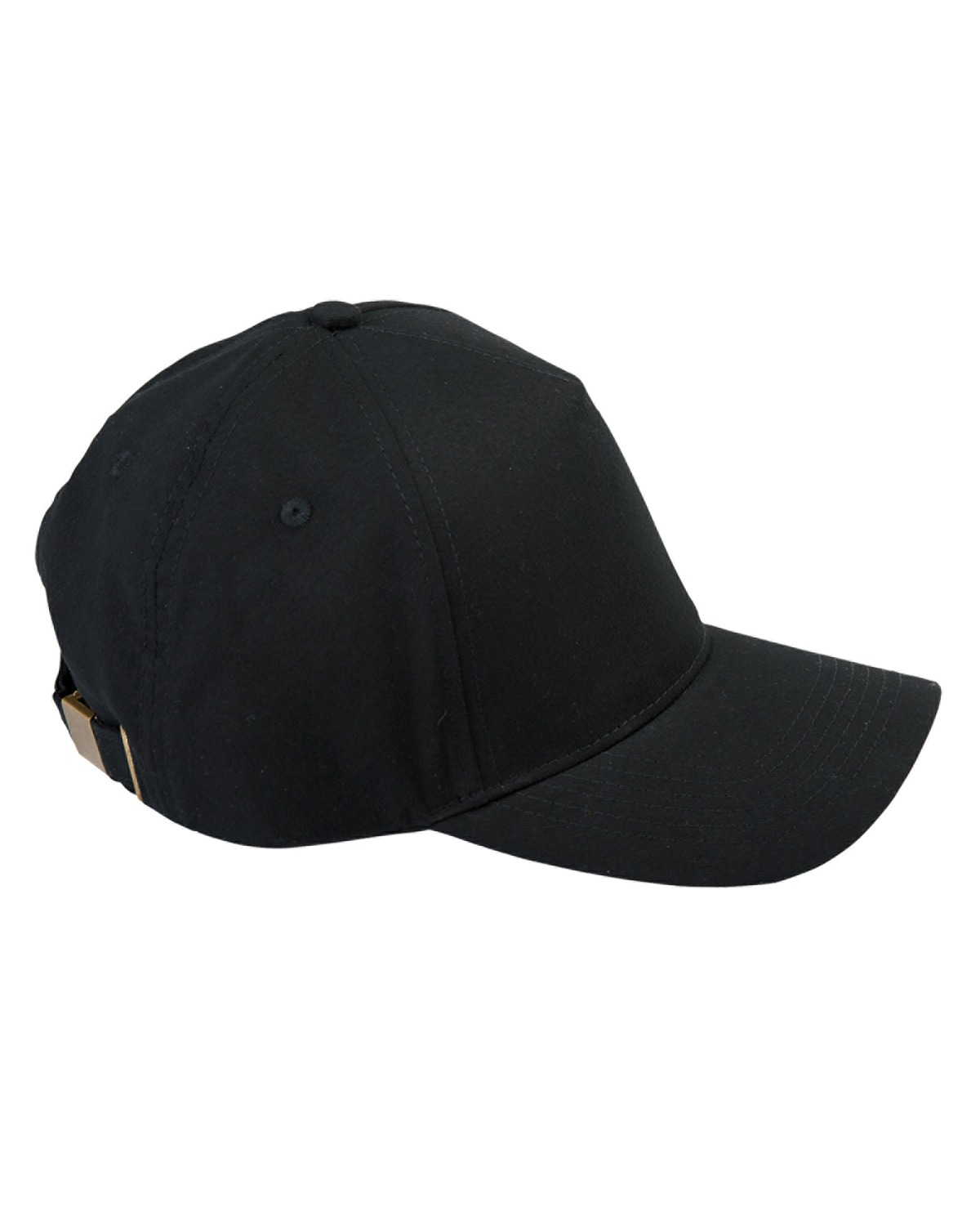 Big Accessories BX034 - 5-Panel Brushed Twill Cap