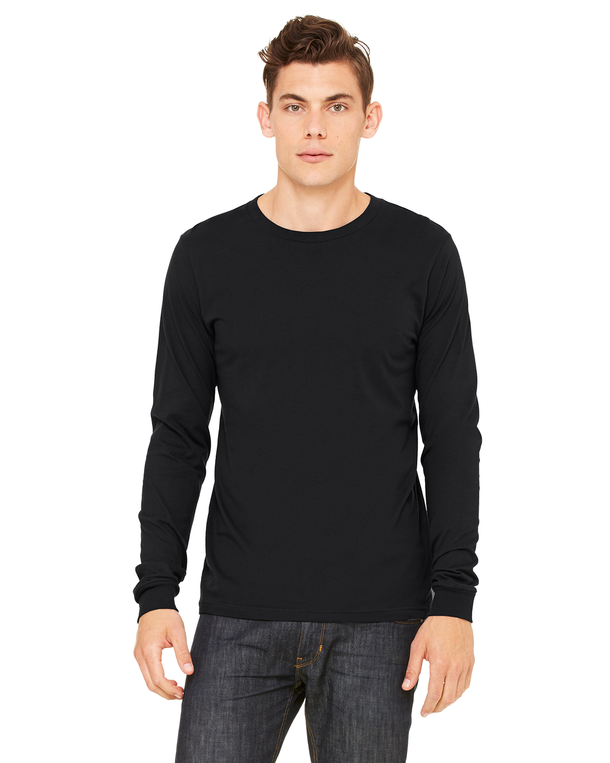 Canvas 3501 Filmore Long Sleeve Crewneck T-Shirt