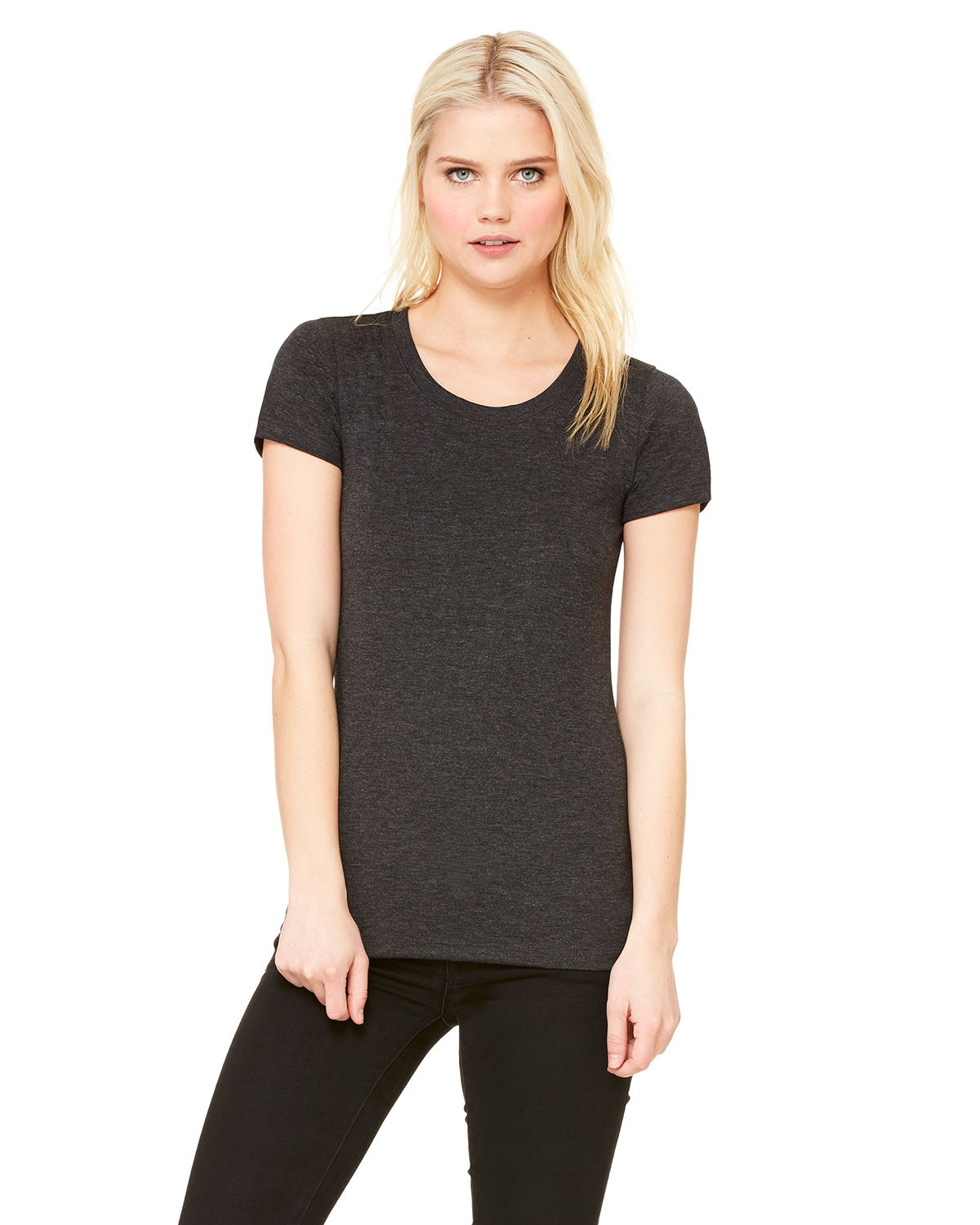 Canvas B8413 - Ladies TriBlend Short-Sleeve Tee
