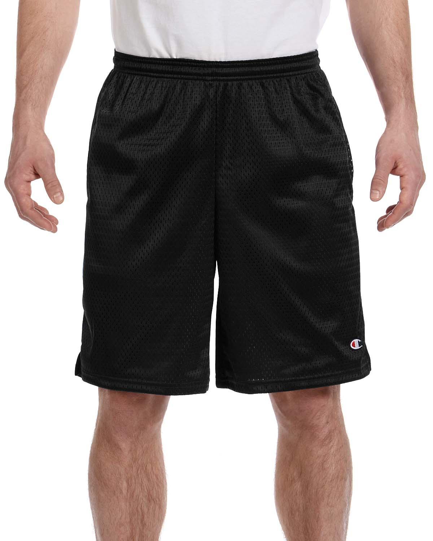 Champion 81622  Long Mesh Shorts with Pockets
