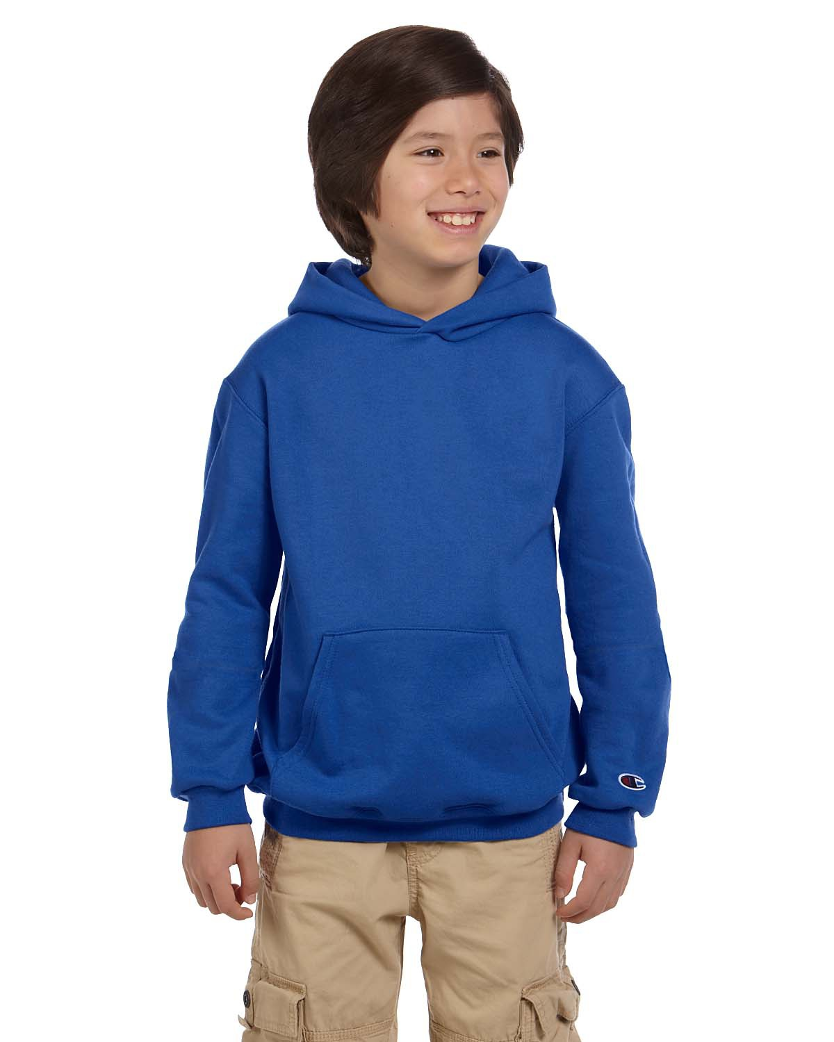Champion S790 Youth  9 oz., 50/50 EcoSmartPullover Hood