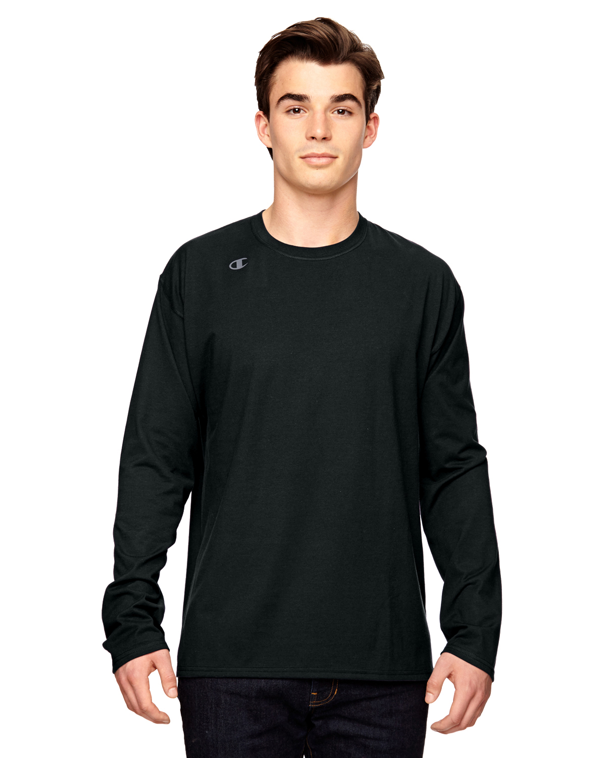 Champion T390 - Vapor Cotton Long-Sleeve T-Shirt