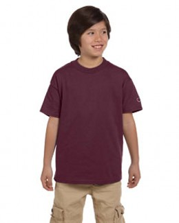 Champion T435 - Youth Short Sleeve Tagless T-Shirt