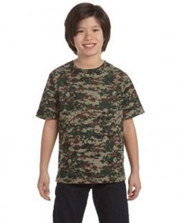 Code V 2206 中青年青少年迷彩服T恤