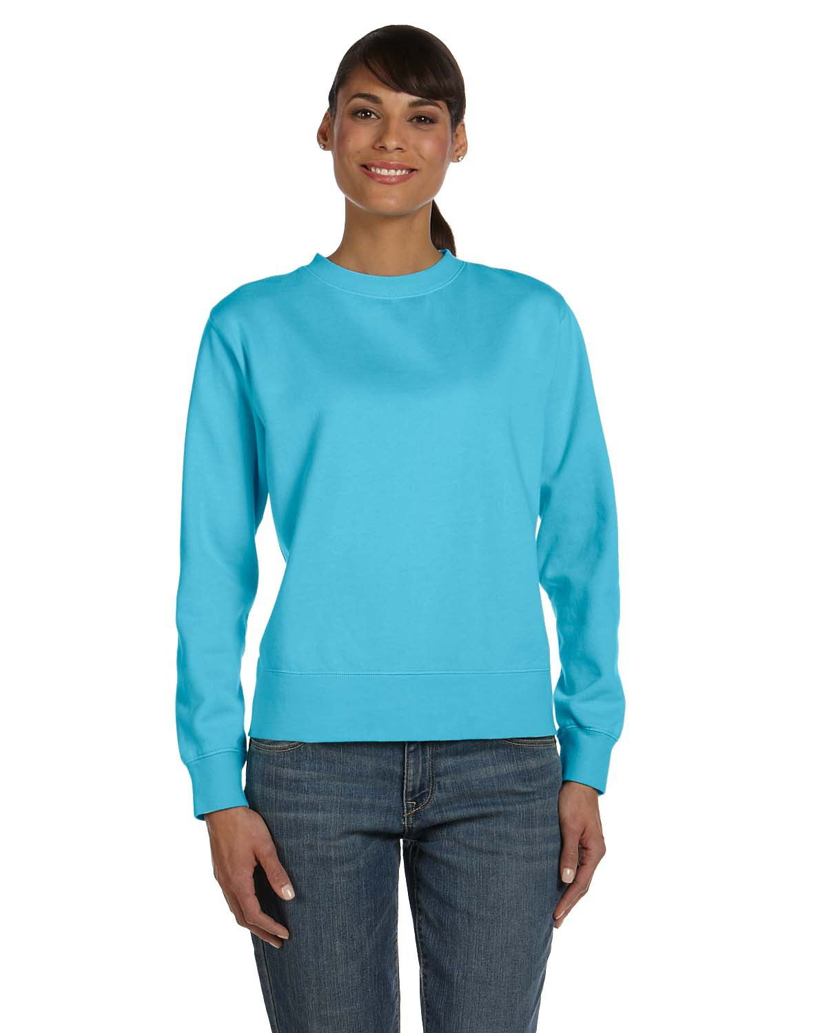 Comfort Colors 1596 - Garment Dyed Women's Crewneck Sweatshirt