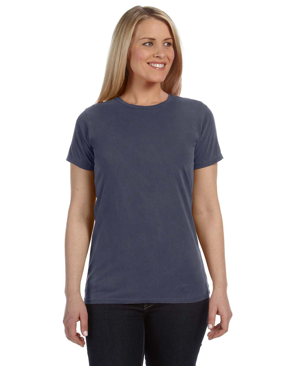 Comfort Colors C4200 - Ladies' 4.8 oz. Ringspun Garment-Dyed T-Shirt
