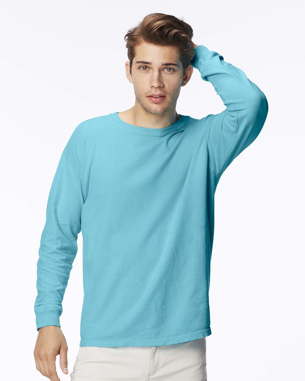 Comfort Colors C5014 - 5.5 oz. Ringspun Garment-Dyed Long-Sleeve T-Shirt