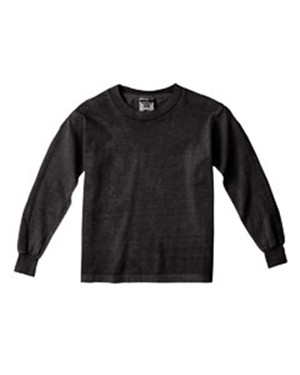 Comfort Colors Drop Ship - C3483 Youth 5.4 oz. Garment-Dyed Long-Sleeve T-Shirt
