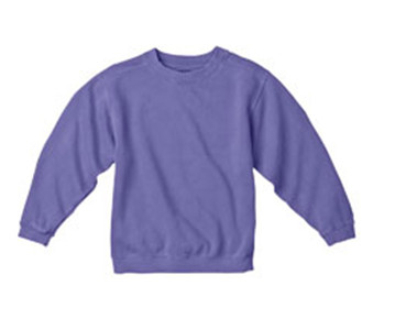 Comfort Colors Drop Ship C9755 - Youth 10 oz. Garment-Dyed Crew Sweatshirt