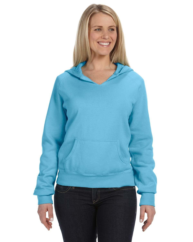 Comfort Colors C1595 女士连帽磨毛布套头卫衣