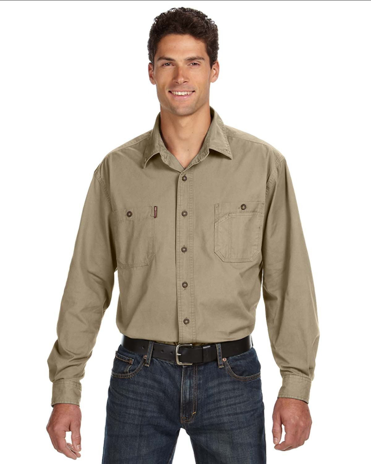 DRI DUCK - 4285 Sawtooth Collection Brick Long Sleeve ...