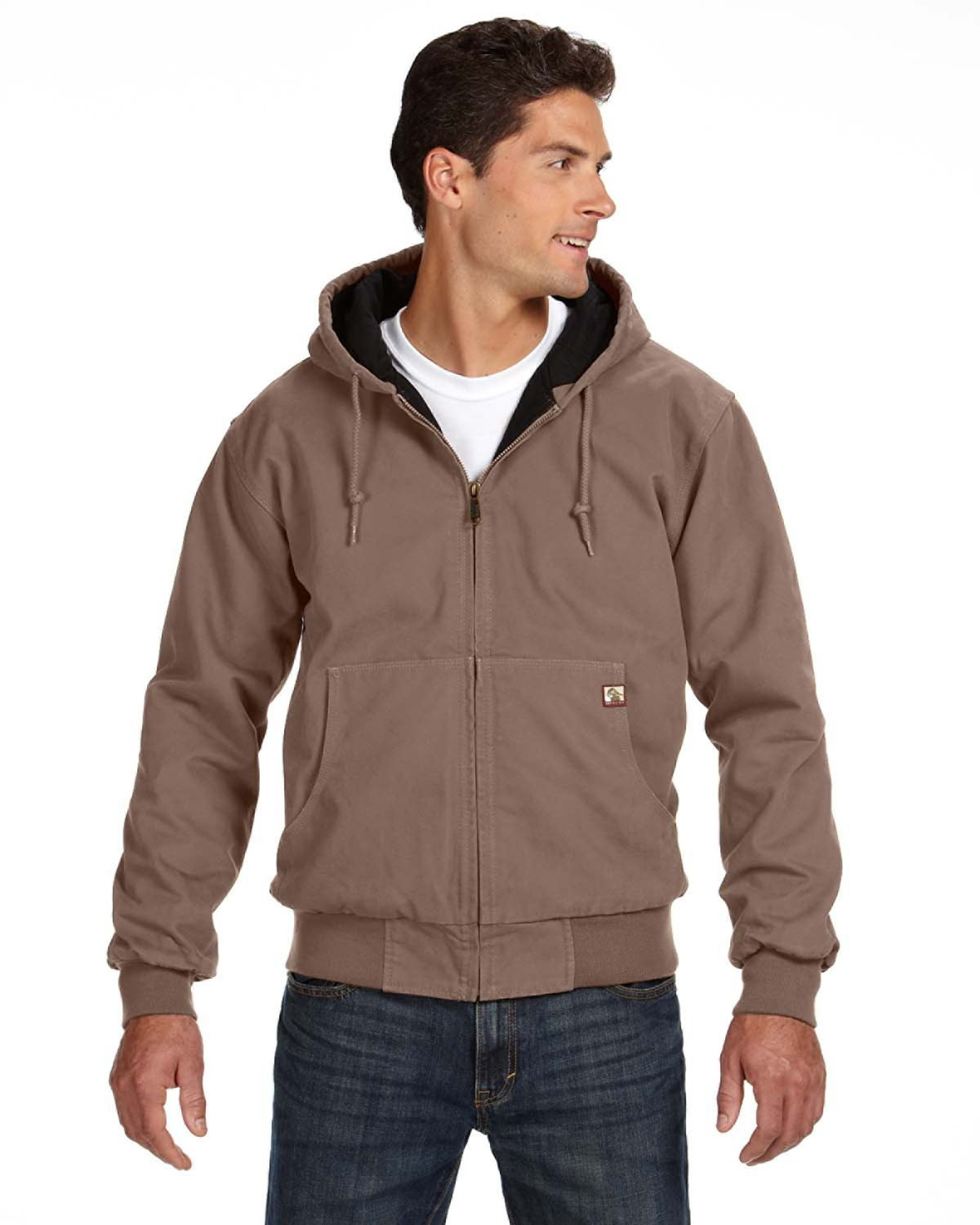 DRI DUCK 5020T Cheyenne Boulder Hooded Cloth Jacket ...
