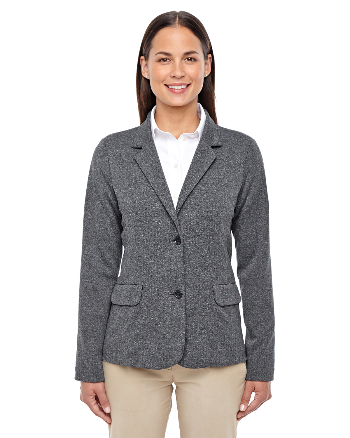 Devon & Jones D886W - Ladies' Fairfield Herringbone Soft Blazer