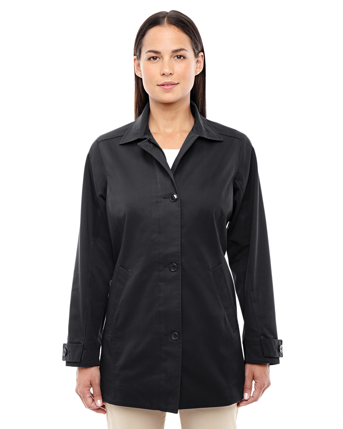 Devon & Jones D982W - Ladies' Lightweight Basic Trench Jacket