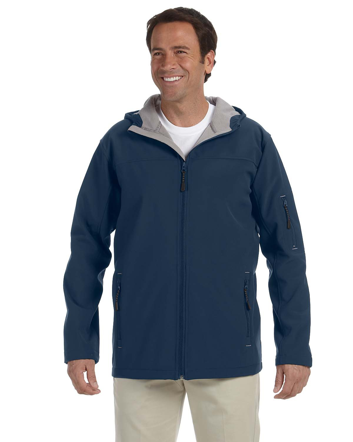 Devon & Jones D998 - Hooded Soft Shell Jacket