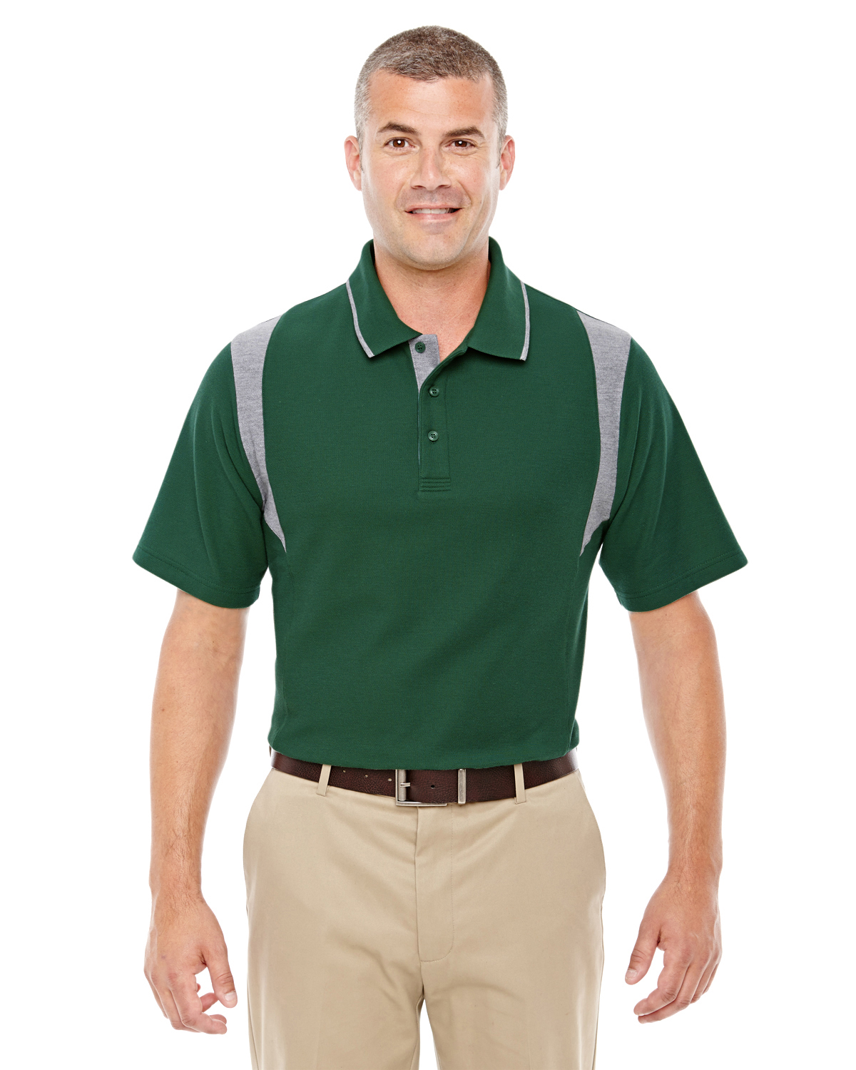 Devon & Jones DG180 - Men's DRYTEC20 Performance Colorblock Polo