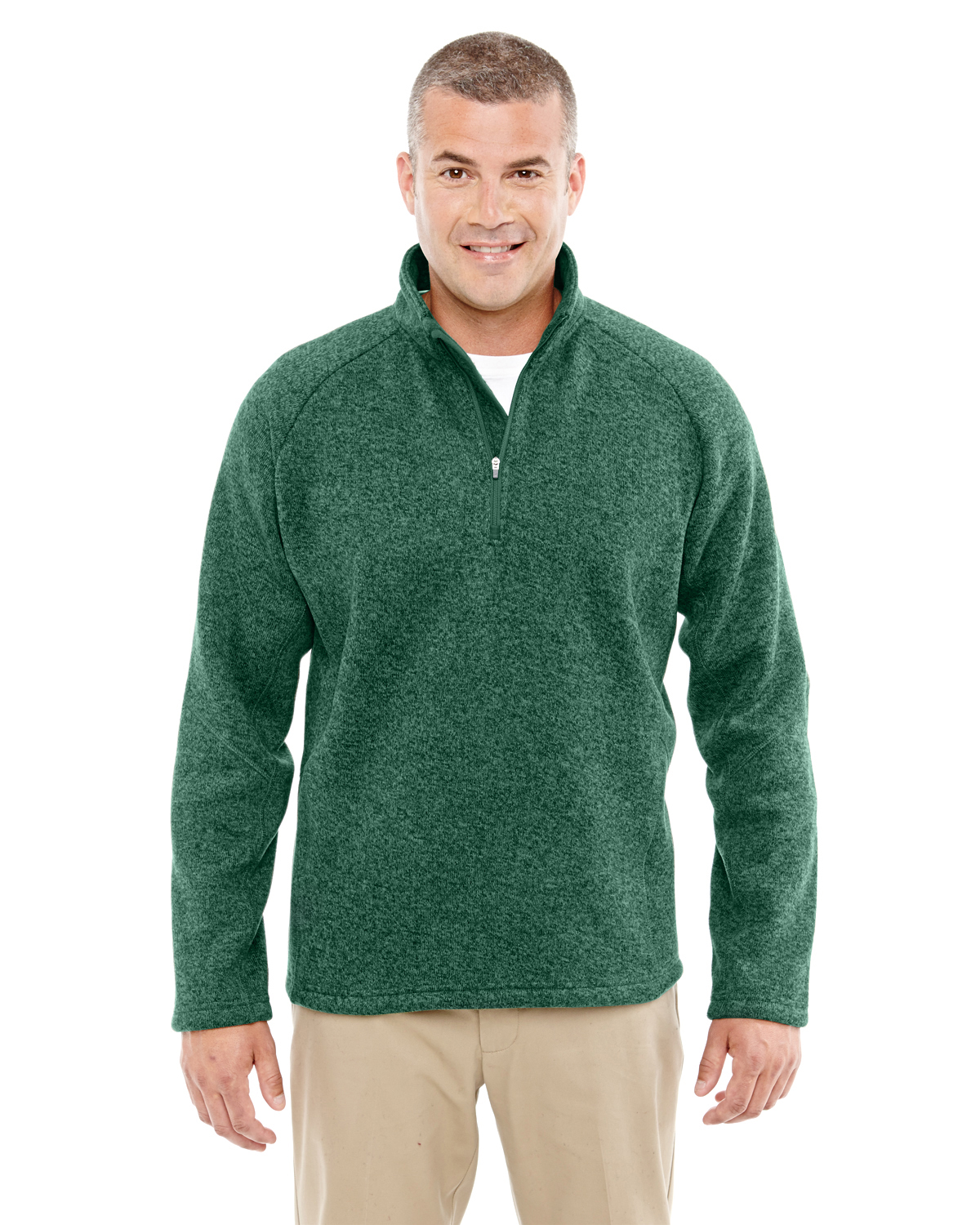 Devon & Jones DG792 - Men's Bristol Sweater Fleece Half-Zip