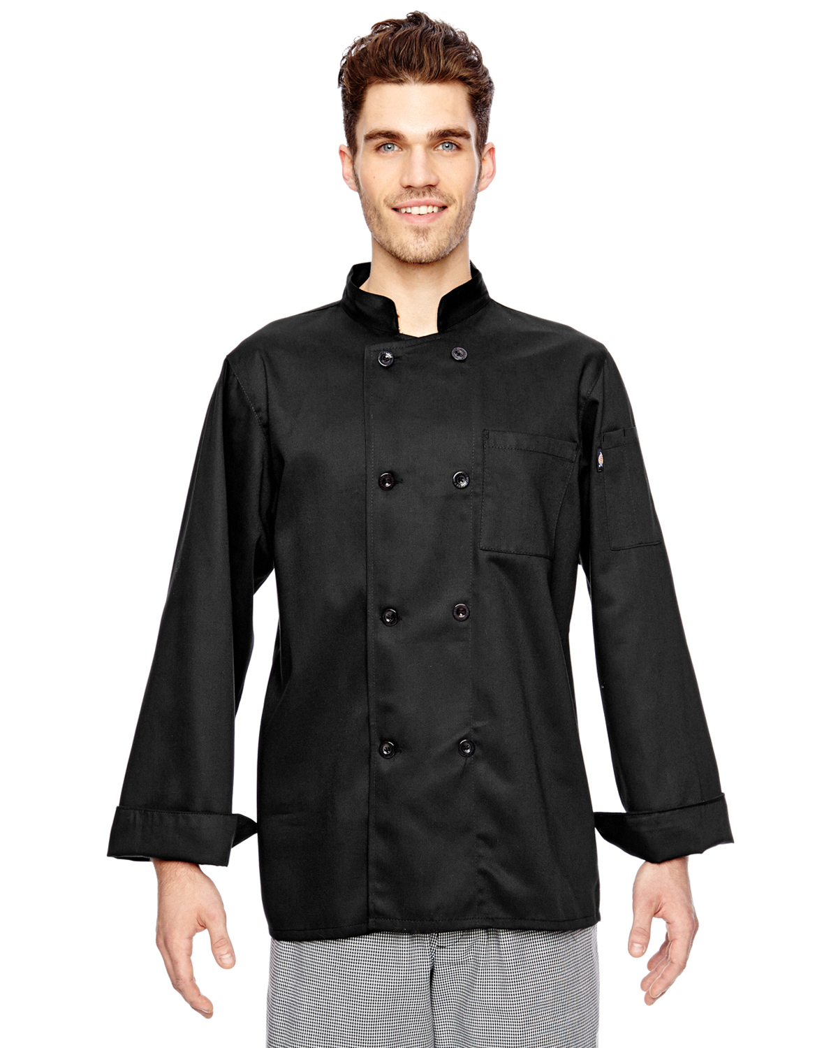 Dickies DC118 - 7 oz. Eight Button Chef Coat